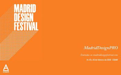 El 14 de febrero comienza, en Madrid, el Festival MadridDesignPro.